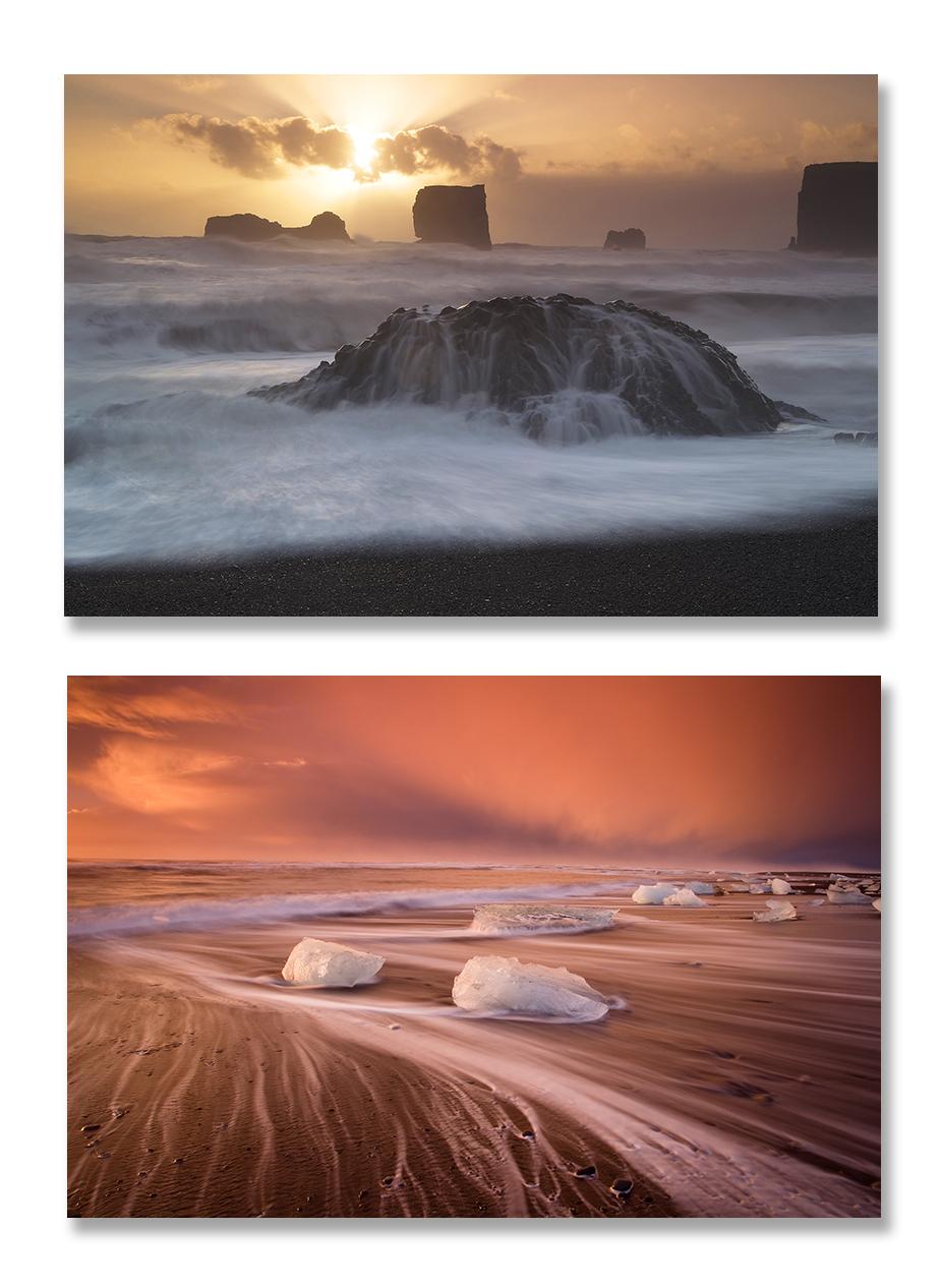 Islande, volcans et paysages d'automne